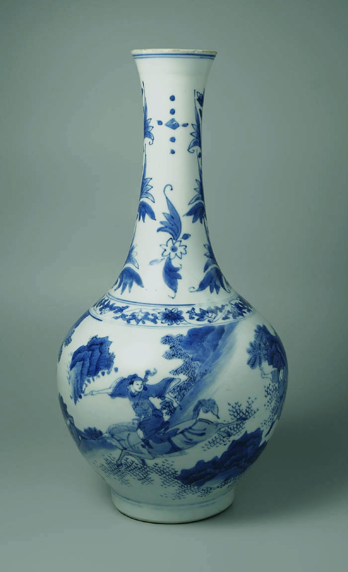 Chinese ming blue and white ceramics chongzhen vase with tulip motif on the neck reviewsmspy